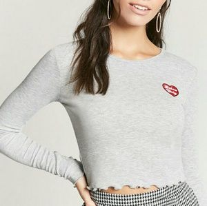NWT Babes Only Crop Top